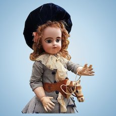 """~~~ Rare Horse Toy """" Courrier """" for Doll Display from Etrennes Catalog by Printemps ~~~"""
