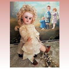 On Hold for H. ~~~Lovely Little French Bisque Bebe Girl by Denamur ~~~
