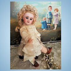On Hold for H. ~~~Lovely Little French Bisque Bebe Girl by Denamur ~~~