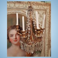 ~~~ Magnificent Luxury Miniature Chandelier ~~~