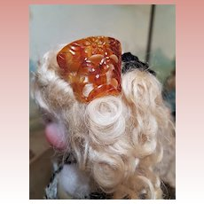 ~~~ Pretty French Fashion Hair Comb / France circa 1870 ~~~