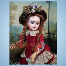 ~~~Lovely French Bisque Bebe Girl by Denamur ~~~