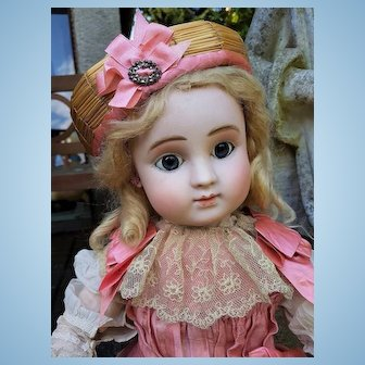 ~~~ Beautiful French Bisque Bebe Steiner Figure C with Lever Eyes ~~~