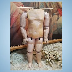 ~~~ Rare small Antique French Steiner Bebe Body ~~~
