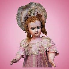 ~~~ Rare French R.R. mark Bisque Bebe in Original Costume ~~~