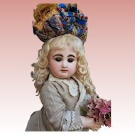 ~~~ Elegant and Gentle Expression French Bisque Bebe by Rabery et Delphieu ~~~