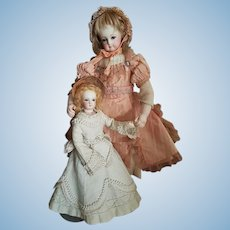 ~~~ Petite French Teenager Poupee by Maison Jumeau in all Original Condition ~~~