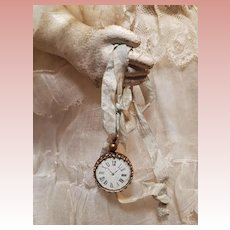 ~~~ Nice Poupee French Faux-Watch  ~~~