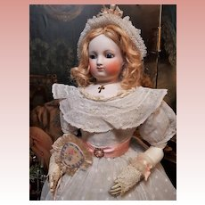 ~~~ Beautiful Early French Parisienne Poupee .... circa 1865 ~~~