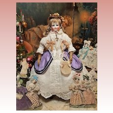 ~~~ Stunning Early French Porcelain Poupee by Blampoix .... France 1858/60 ~~~