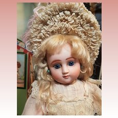 ~~~ Rare French Factory Original Bisque Bebe Series C Steiner with Gorgeous Expression ~~~