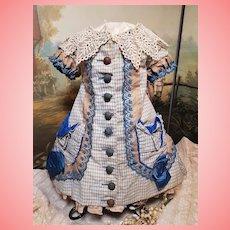 ~~~ Pretty French Bebe Princess-Style Cotton Dress ~~~