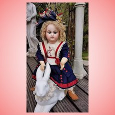 ~~~ Lovely Mariner French Bisque Bebe by Rabery and Delphieu / France circa 1886 ~~~