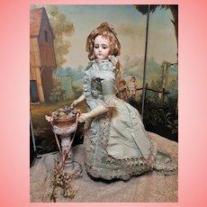 ~~~ Wonderful Rare French Bisque Portrait Poupee by Maison Jumeau ~~~