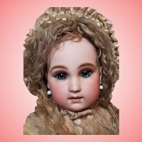 ~~~ Very Beautiful Early Rare French Schmitt et Fils Bebe with Gorgeous Facial Shape ~~~