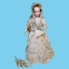 ~~~ Gentle Expression Young E .J Portrait Poupee in Superb Costume ~~~