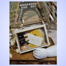 "~~~ Lovely 19th. Century French Poupee Accessory Box by "" Mademoiselle Nina "" ~~~"