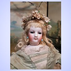 ~~~ Superb French Bisque Poupee with rare Facial Model by Brasseur- Videlier ~~~