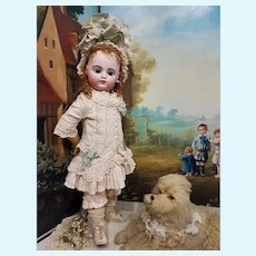 ~~~ Childlike French Blockletter Bisque Bebe by Gaultier ~~~