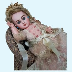 """~~~ Beautiful French Bisque Bebe """" Mlle. Jumeau """" Size 4 ~~~"""