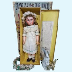 ~~~ Pretty all Original French Bisque Bebe Jumeau with Box ~~~