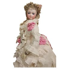 ~~~ Unusually Elegant French Bisque Poupee by Jumeau ~~~