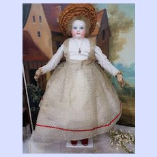 ~~~  Lovely French Fashion Huret Enfantine Silk Gown & Blouse / 1860th. ~~~