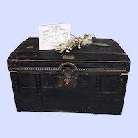 ~~~ Very rare Poupee Trunk by Maison Alph. Giroux Familie / circa 1858 ~~~