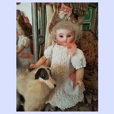 "~~~ Rare 10"" Jules Steiner Premier Bisque Bebe in pretty Clothing ~~~"