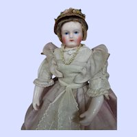 ~~~ Very Fine French Porcelain Poupee by M.L. Rohmer / 1858 ~~~