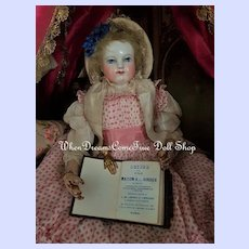 ~~~ Very rare Miniature Poupee Notebook by Maison Giroux / 1864 ~~~