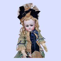 ~~~ Rare French Bisque Bebe by Petit et Dumoutier in Beautiful Costume ~~~