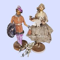 ~~~ Rare Fashionable Lady by Mesdames Lafitte - Desirat ~~~