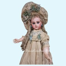 ~~~ Rare early French Schmitt et Fils Bisque Bebe in original Clothing ~~