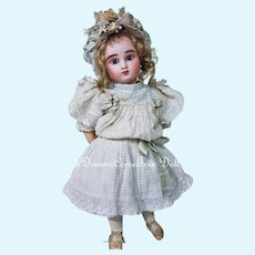 ~~~ From Maison Bail Doll Shop French Bisque Bebe Steiner Figure C with Lever Eyes ~~~