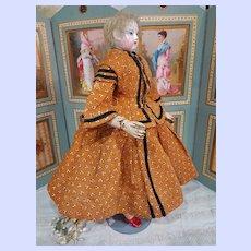 ~~~ Exquisite Enfantine Costume for Huret era Poupee by Mlle. Bereux ~~~
