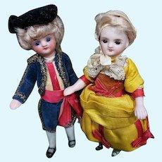 ~~~ Mademoiselle & Monsieur Mignonette in Superb original Clothing ~~~
