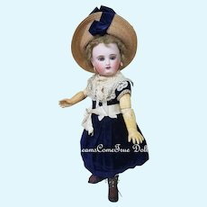 ~~~ Rare Moon Face French Bisque Bebe Steiner in original Condition/ 1875 ~~~
