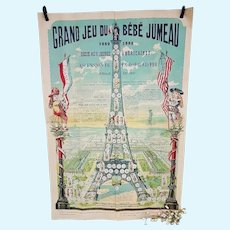 ~~~ Very Rare Authentic Maison Jumeau Game for the 1889  Paris Exposition ~~~