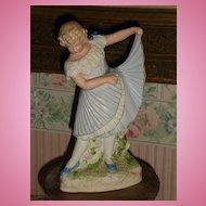 ~~~ Pretty Heubach Dancing Girl - Figurine ~~~
