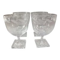 "William Yeoward ""Islay"" Crystal Water Goblets - Set of 4"