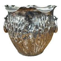 Arts & Crafts Silver Plated Wine Cooler by Hukin & Heath
