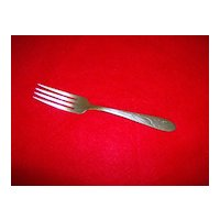 H B Co.  Heather Pattern Dinner Fork