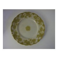 Upper Hanley Pottery Co. Dinner Plate Victoria Pattern