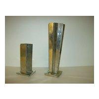 Vintage Pourette Metal Candle Molds