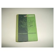 Girl Scout Handbook  ~ 20th Edition ~ 1959