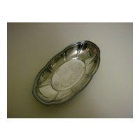 F.B. Rogers Silver Co.~ Silverplate Oval Bread Tray