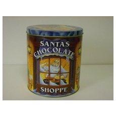 Collectible Tin ~ Santa's Chocolate Shoppe