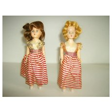 Hard Plastic Dolls ~ Sleep Eyes ~ 1940's