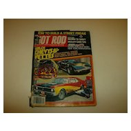 Hot Rod Magazine ~ December 1977 ~ Wild! Chevys & Vettes